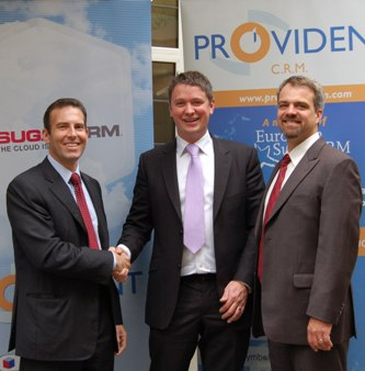 Provident and SugarCRM Executives.