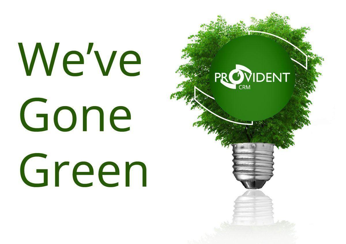 Green Bulb Provident Logo