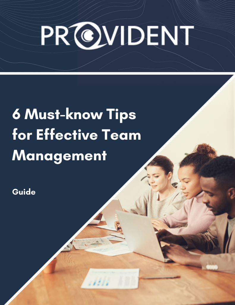 Provident CRM 6 Must-know Tips for Effective Team Management