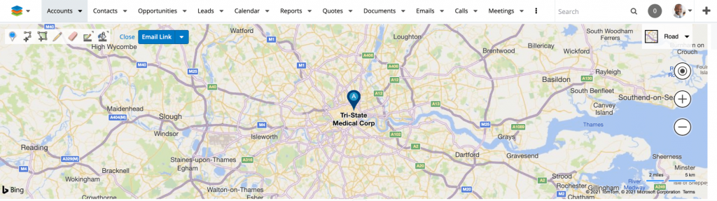 Provident CRM Using Maps in SugarCRM