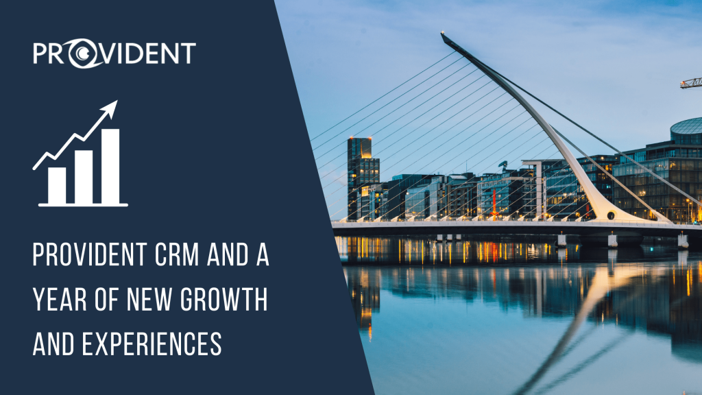 Provident CRM year of new growth and experiences